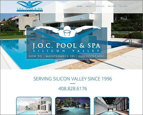 Swimming Pool Website Design michigan web design Website Design
