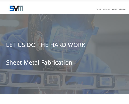 silicon valley mechanical website design