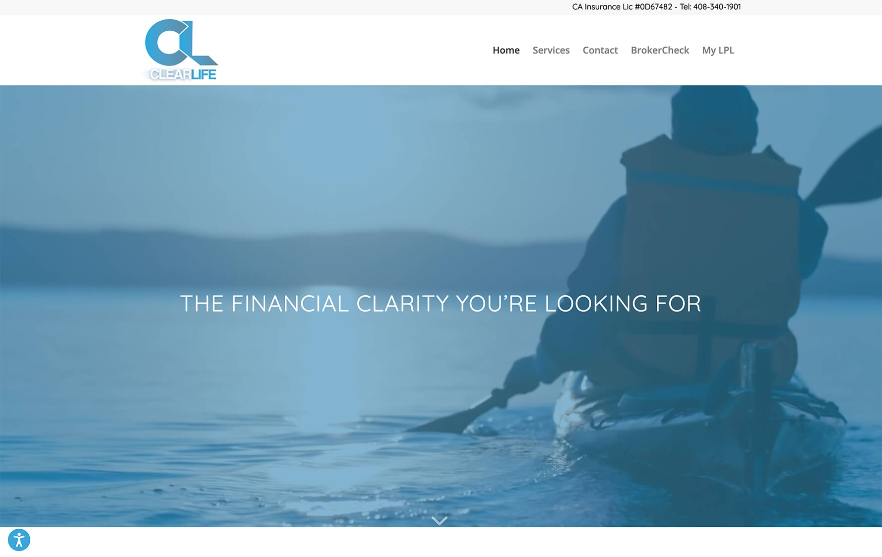 ClearLife Wealth Management Website Design
