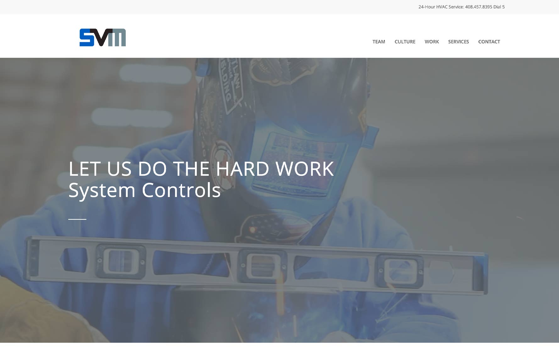 SVM Website Design